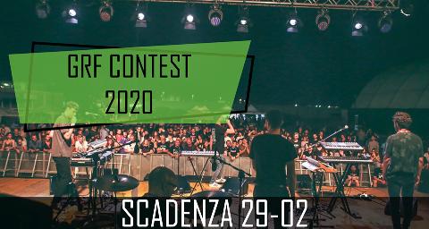 REGOLAMENTO GRF CONTEST 2020